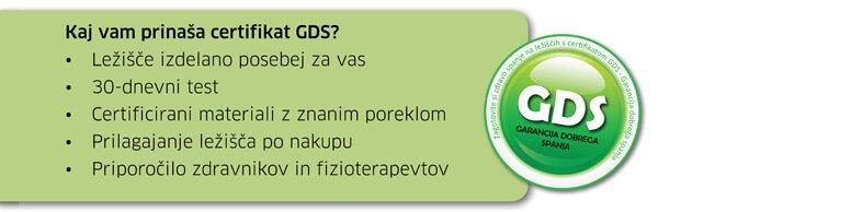 GDS certifikat
